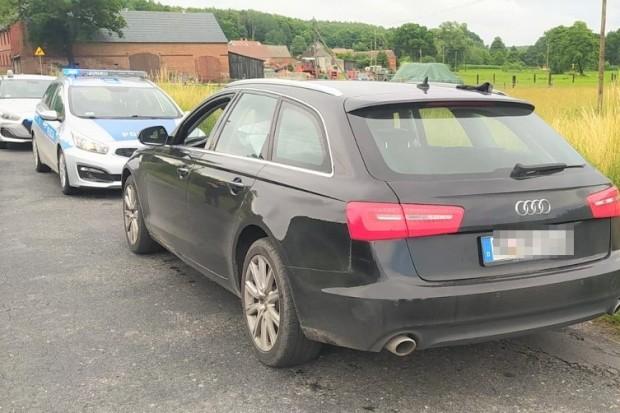 Policyjny pościg na A4. 32-latek uciekał audi skradzionym w Niemczech