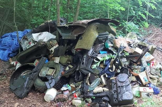 Mówią: STOP śmieciom w lesie!!! Kolejna akcja na Miedziaku