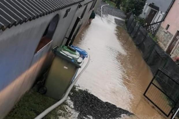 Burza nad powiatem, strażacy interweniowali m.in. w Bolesławcu. ZDJĘCIA