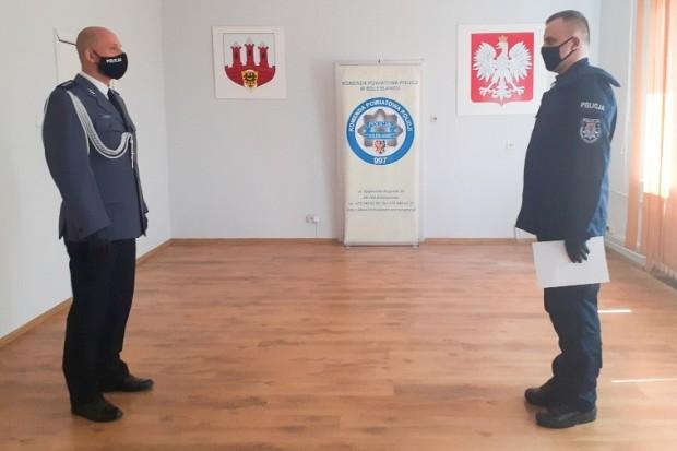 Nowy policjant w bolesławieckiej jednostce