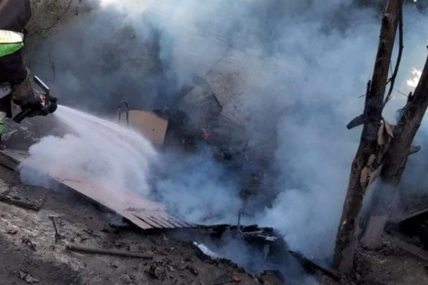 Pożar przy Sienkiewicza
