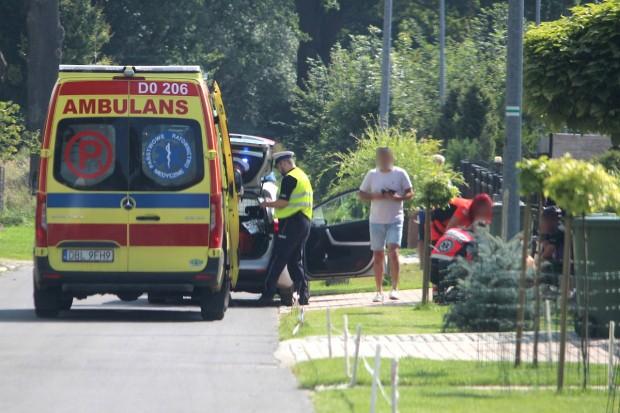 Rowerzysta potrącił kobietę na drodze w Kruszynie