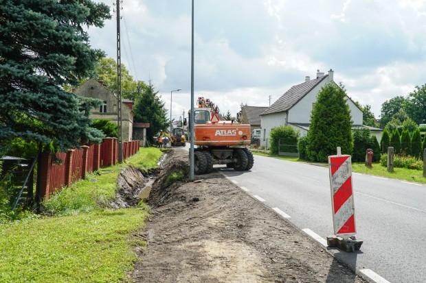 Inwestycje drogowe w Powiecie Bolesławieckim. Jakie są postępy w pracach?