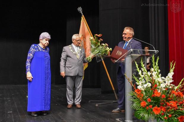 Wyjątkowe wyróżnienia podczas uroczystej sesji Rady Miasta Bolesławiec