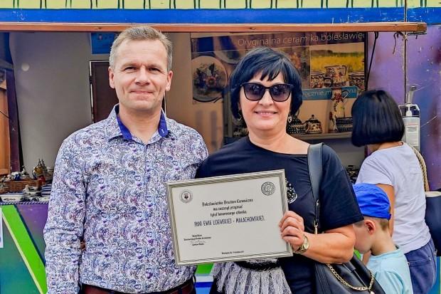 Ewa Lijewska-Małachowska honorową członkinią Bractwa Ceramicznego