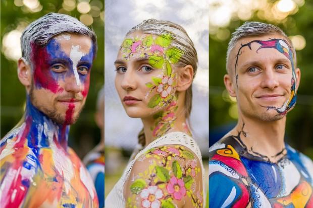 Wyjątkowy pokaz malowania ciała na Glina Show 2021