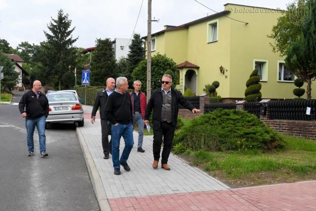 Jest nowy chodnik przy Różanej w Bolesławcu