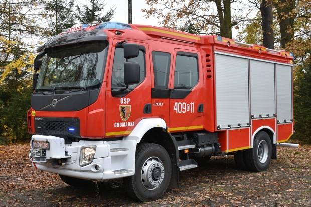 Bezpieczniej w gminie Gromadka. Strażacy z wysokimi dotacjami na nowy sprzęt