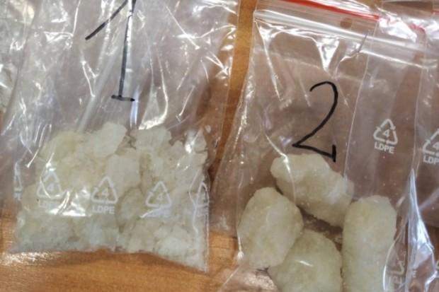Policjanci z Kruszyna przechwycili tysiąc porcji metamfetaminy. 42-latek zatrzymany