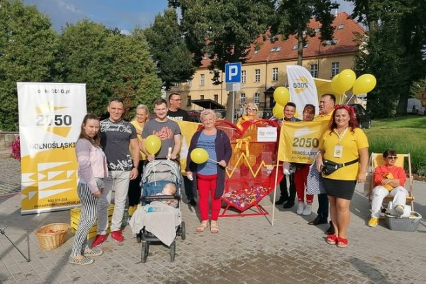 Serce na nakrętki od Stowarzyszenia Polska 2050