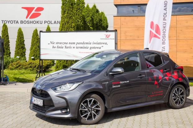 Pracownicy Toyota Boshoku Poland w Wykrotach świętowali wdrożenie nowego projektu