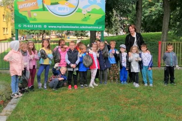 Bolesławieckie przedszkolaki zachęcają do dbania o nasz wspólny dom