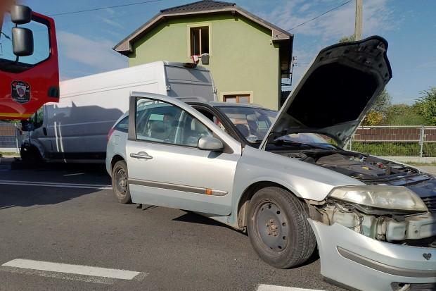 Dwoje dzieci poszkodowanych w wypadku na drodze do Iwin