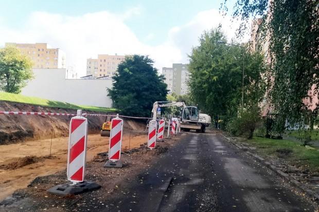 Trwa remont ulicy Łukasiewicza