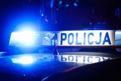 Wykroty: Pijany kierowca wpadł, bo wjechał w ogrodzenie
