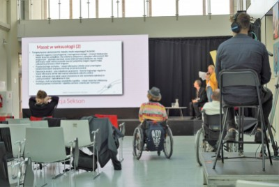 Seksualność osób z niepełnosprawnością ruchową