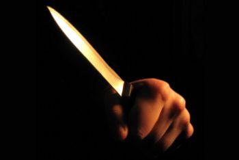 Niepoczytalny mężczyzna wymachiwał nożem w sklepie