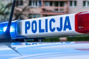 Policjanci sprawdzają ciężarówki i busy