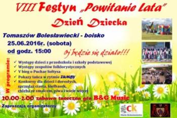 Powitają lato w Tomaszowie Bolesławieckim