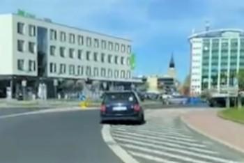 Szalony pirat drogowy z powiatu zgorzeleckiego gnał przez centrum Bolesławca