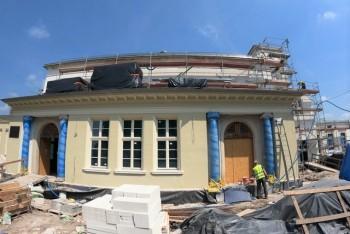 Remont dworca PKP w Bolesławcu przedłuży się o kolejne cztery miesiące