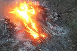Spalał plastikowe śmieci na działce, dostał 500 zł mandatu