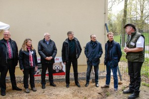Nowe ogrodzenie wokół Naszego Zoo