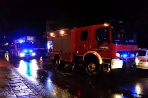 Pożar w pizzerii przy Starzyńskiego