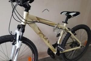 Skradziony rower odzyskany. Złodziej zatrzymany przez policjanta po służbie