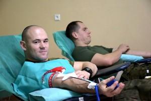 Bolesławieccy artylerzyści oddali krew dla 7-letniego Aleksa