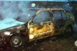 Spłonęło auto mężczyzny, który chciał pomóc w gasz…