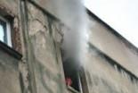 Pożar w mieszkaniu przy ul. Karpeckiej