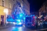 Pożar w hotelu w drugi dzień świąt