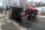 Wypadek w Starych Jaroszowicach, jedna osoba ranna