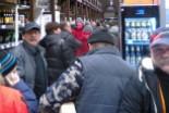 Gigantyczna kolejka w hipermarkecie Carrefour