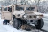 Już rozbili Hummera, a ledwo przyjechali: żołnierze US Army