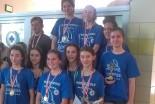Pływaczki z Oxpressu mistrzyniami strefy