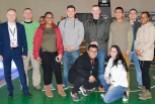 Amerykańscy żołnierze na meczu Turowa