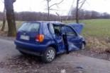 Wypadek między Kruszynem a Kraśnikiem Górnym, jedna osoba ranna