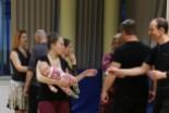 50 osób i jeden niemowlak na warsztatach tanga w BOK-MCC