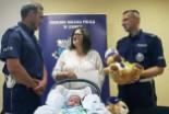 Rodzina najmłodszego policjanta z drogówki podzięk…