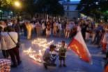 300 osób przed sądem w Bolesławcu żądało veta prezydenta Dudy