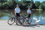 Patrol rowerowy zatrzymał dwóch mężczyzn z narkoty…