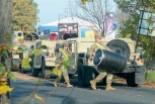 Będą pieniądze na poszerzenie drogi rozjeżdżanej przez pojazdy US Army?