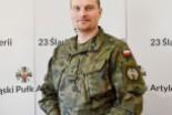 Major Jacek Jackowski oficerem roku 23 Pułku Artylerii