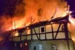 Spłonął budynek w Gościszowie. Długa i trudna noc…