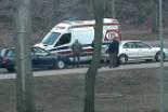Kierowca Volkswagena najechał na Mitsubishi