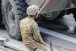 Zderzenie trzech pojazdów US Army na A4
