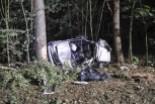 Śmiertelny wypadek na krajowej 30. 27-latka zginęła na miejscu, 45-latek zmarł w szpitalu