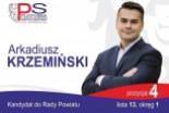 Arkadiusz Krzemiński – dobry kandydat do rady powi…